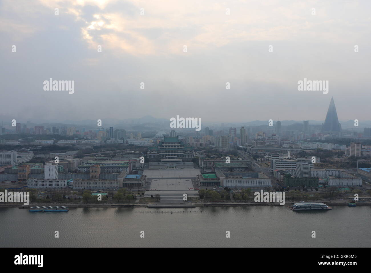 Pyongyang, North Korea - Stock Image
