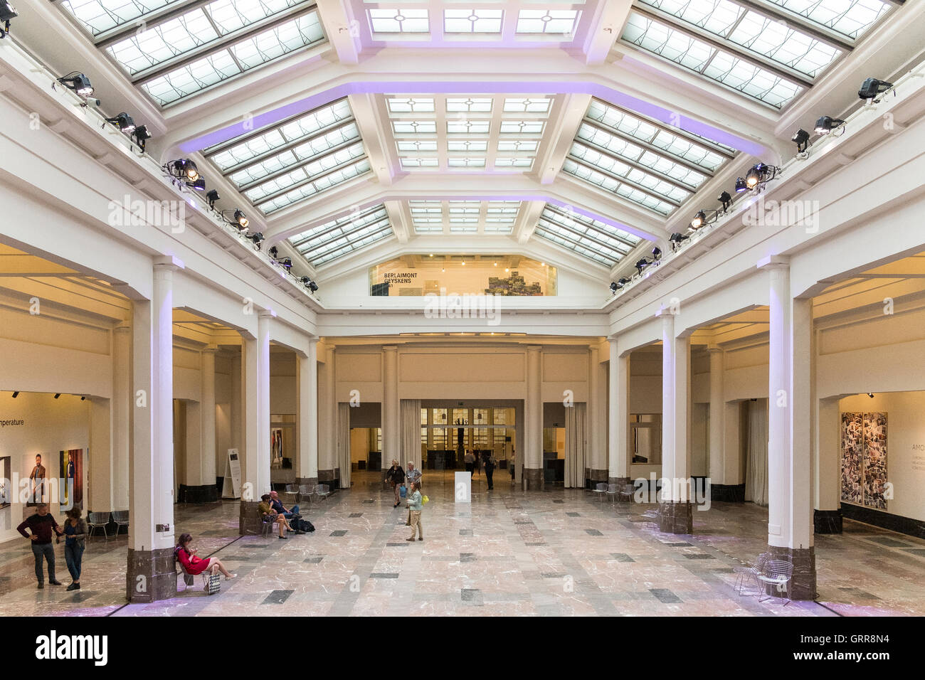 bozar gallery interior brussels belgium beaux arts Stock Photo