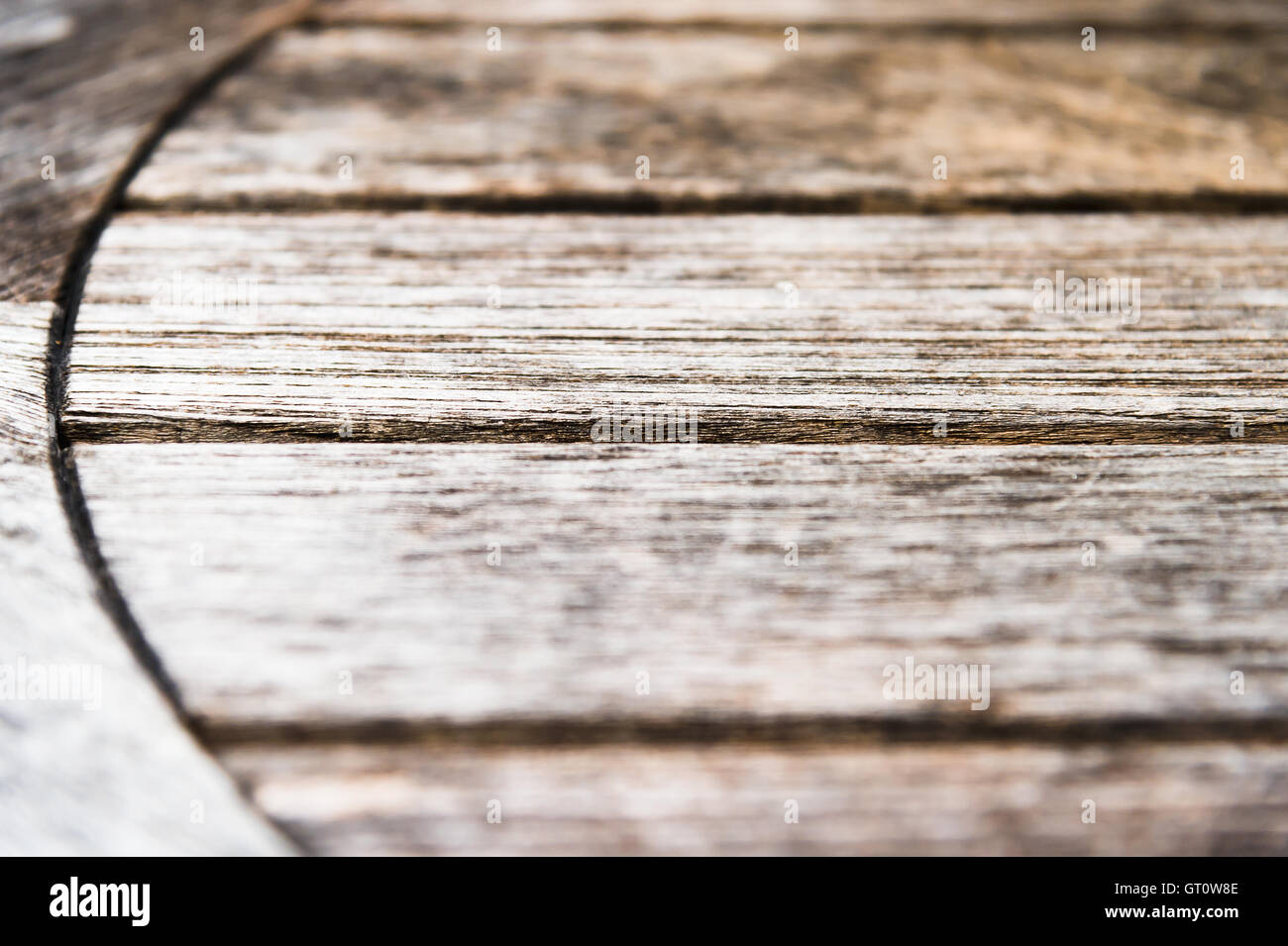 old wooden table background texture - Stock Image