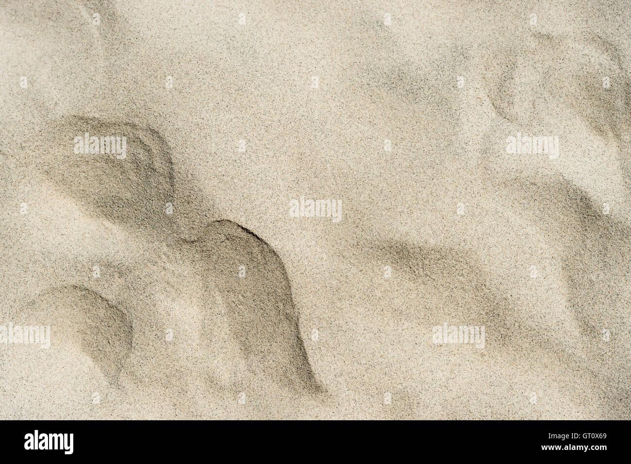 sand texture on beach - Stock Image