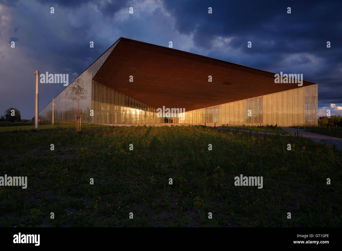 Estonian National Museum main building. 4th september 2016 Tartu. Estonia - Stock Image
