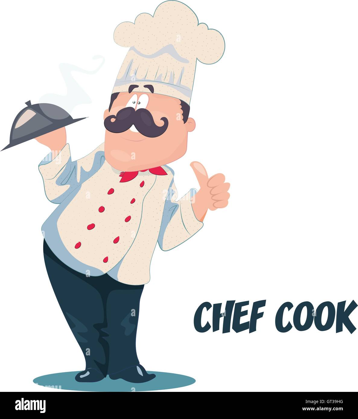 Chef vector cartoon character Stock Vector Art   Illustration ... 21d195d210cf