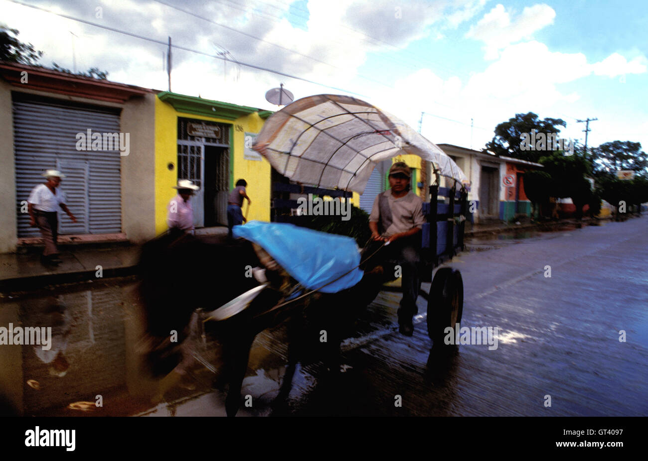 dbcfe518b4 Farmer traveling to the ancient market village of Zaachila near Oaxaca  Mexico