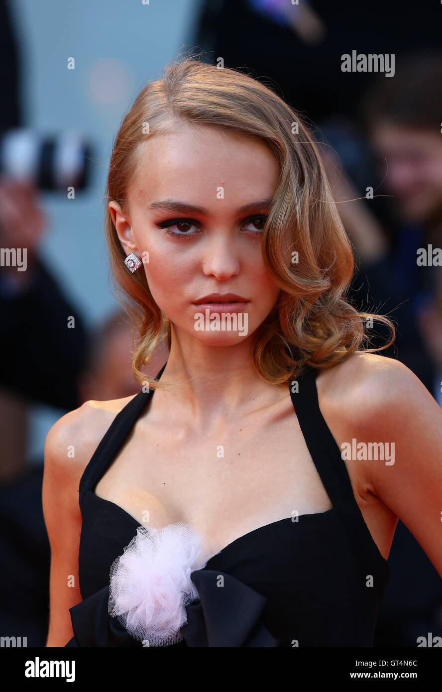 29f75b4e004f Actress Lily-Rose Depp arrives for the Premiere of movie