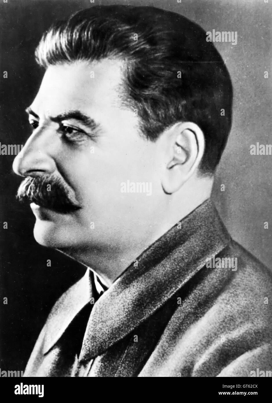 Stalin, Joseph Stalin, Secretary-general of the Communist party of Soviet Russia - Stock Image