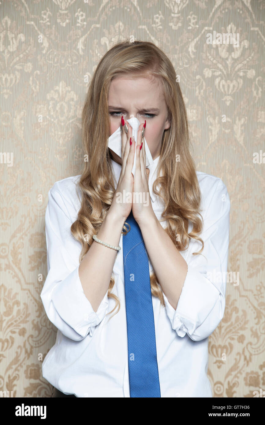 blow your nose stock photo 118181034 alamy