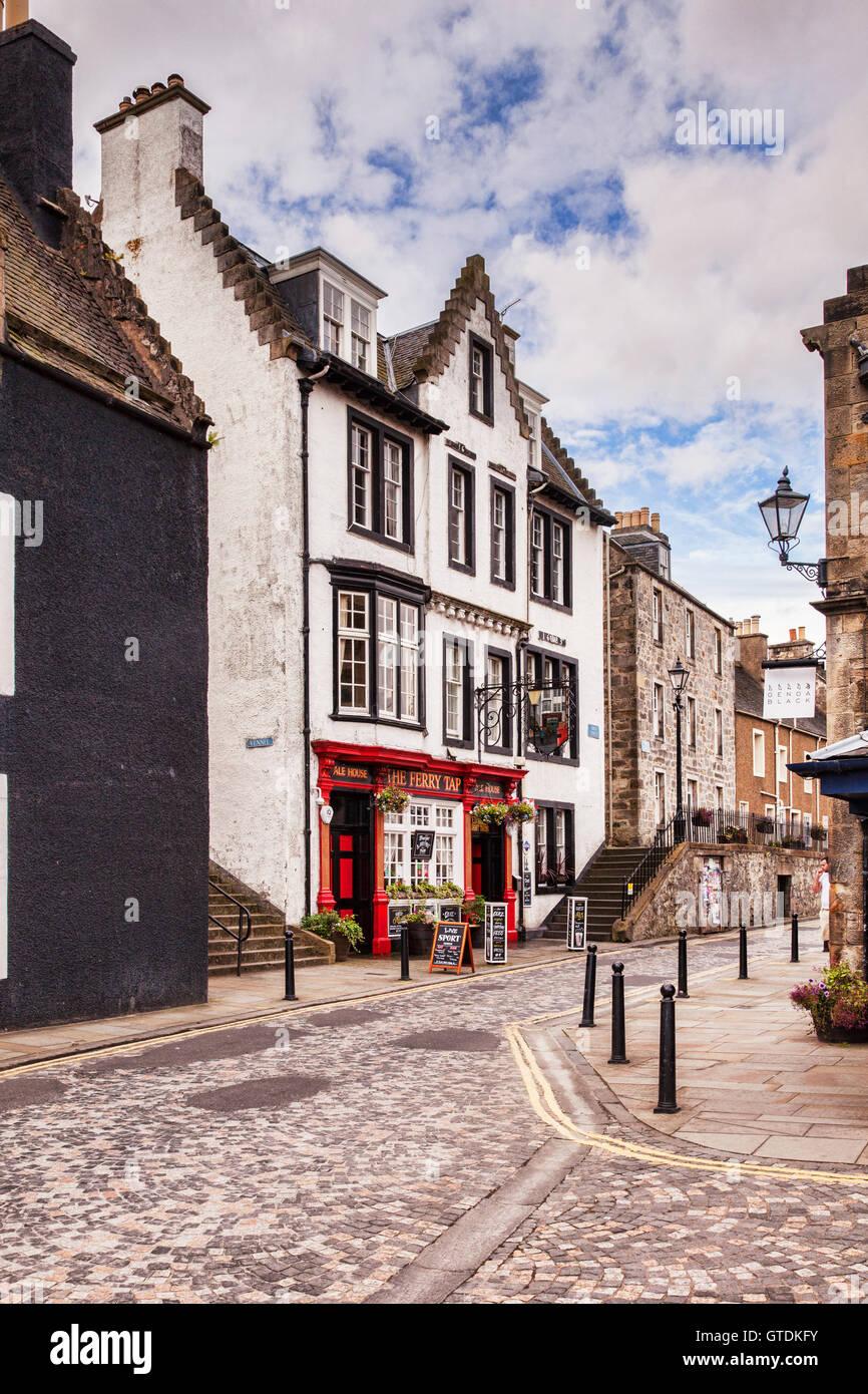 High Street, Queensferry, Lothian, Scotland, UK - Stock Image