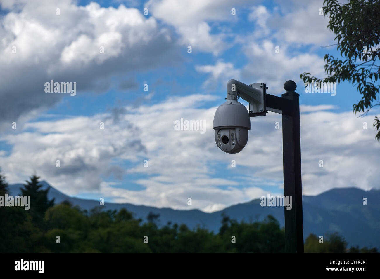 CCTV Camera - Stock Image