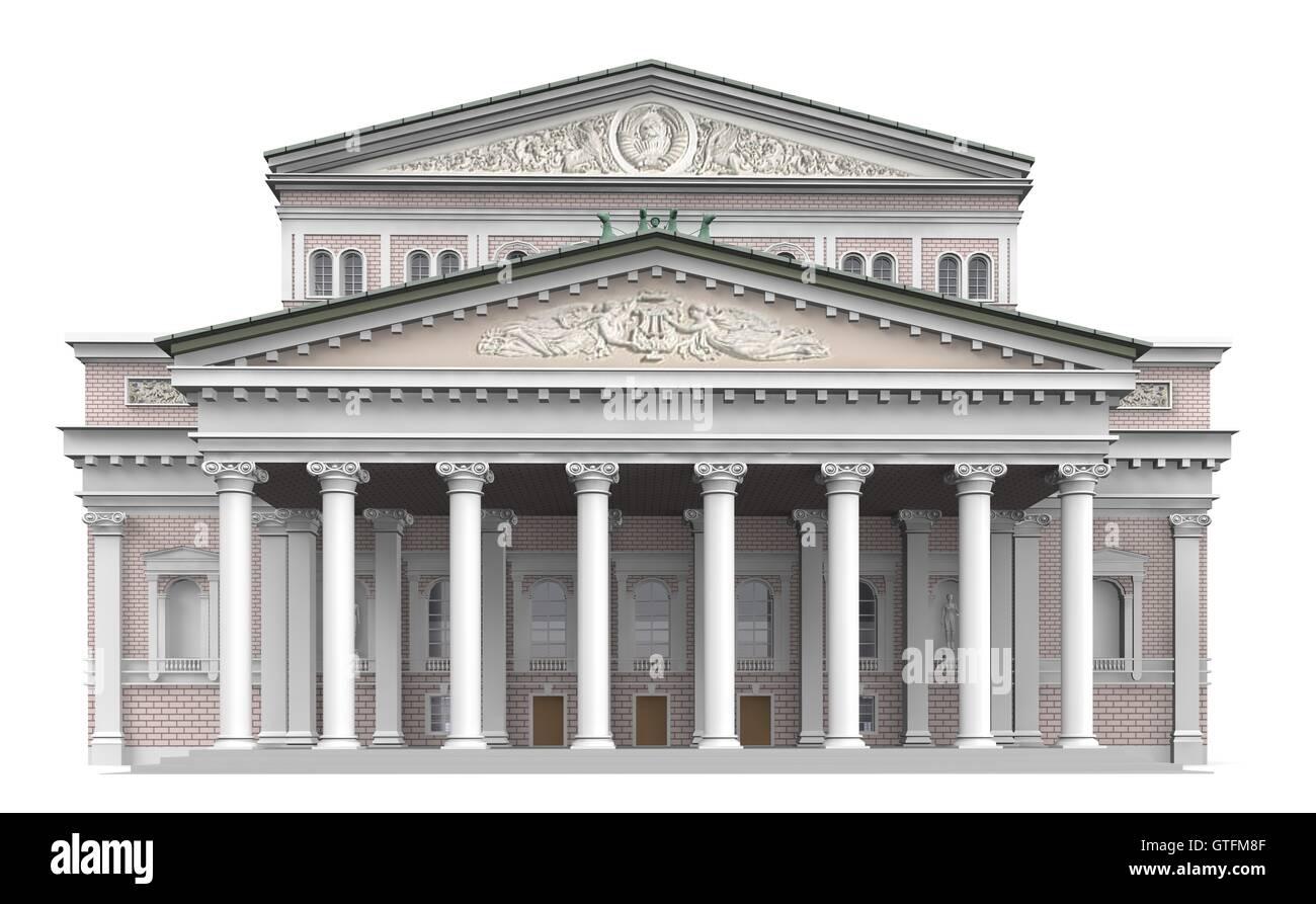Bolshoi Theatre 1 - Stock Image
