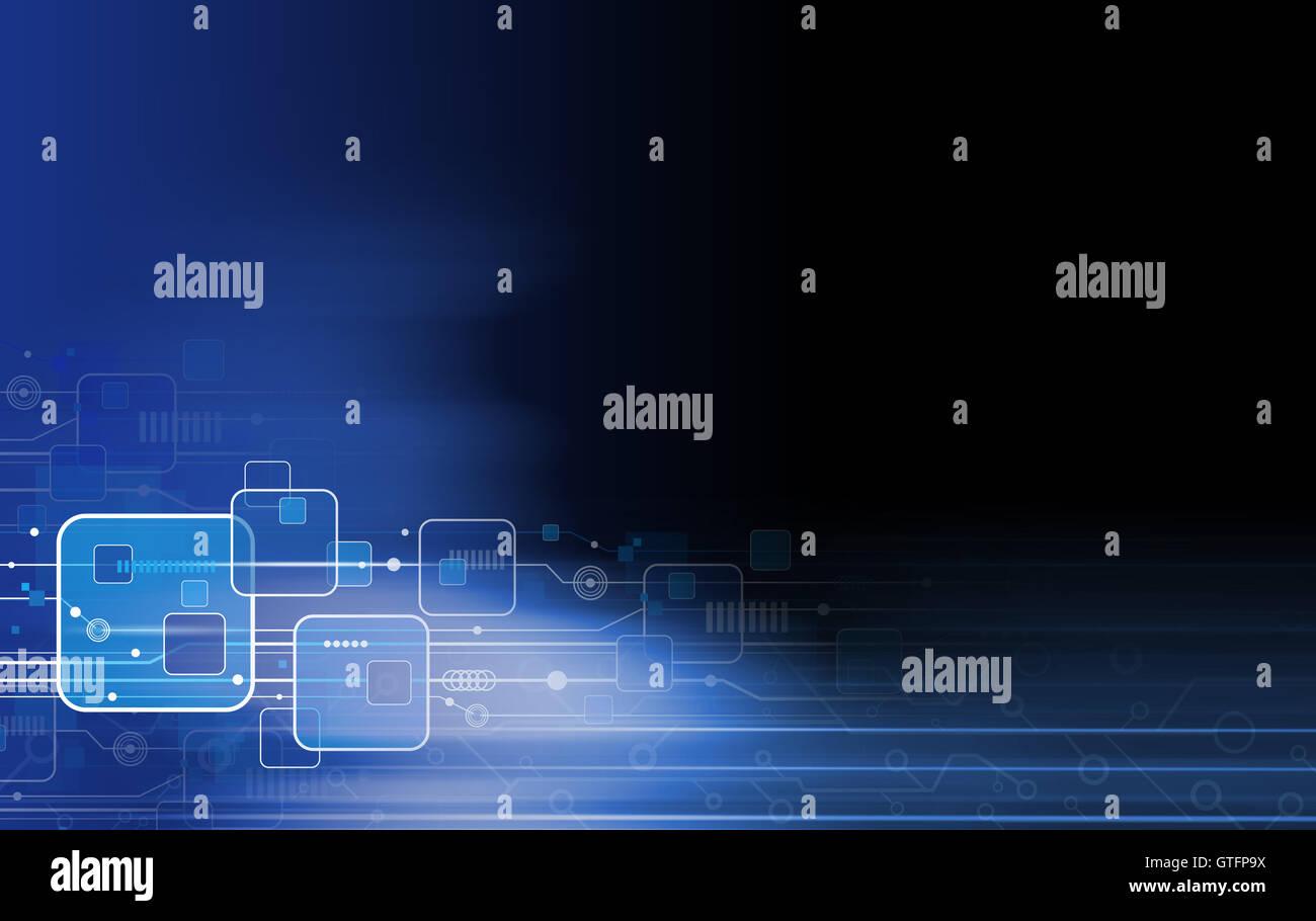 Technology background design - Stock Image