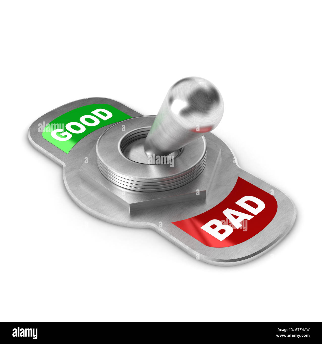 Bad Concept Switch - Stock Image