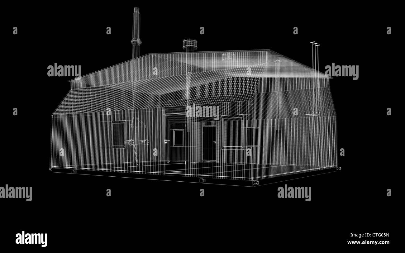 Wire Warehouse Black and White Stock Photos & Images - Alamy