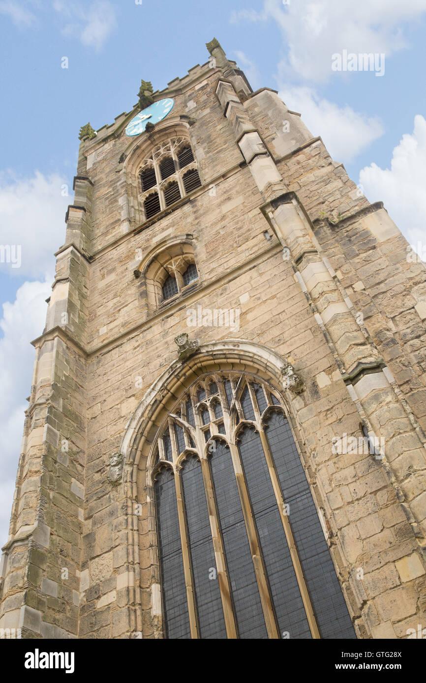 Church of all saints in Pocklington - Stock Image