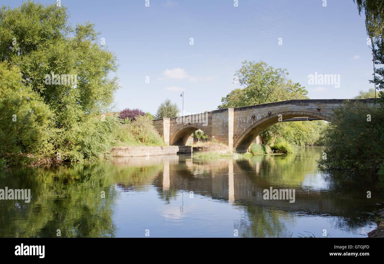 Location photographs of Stamford bridge Yorkshire - Stock Image