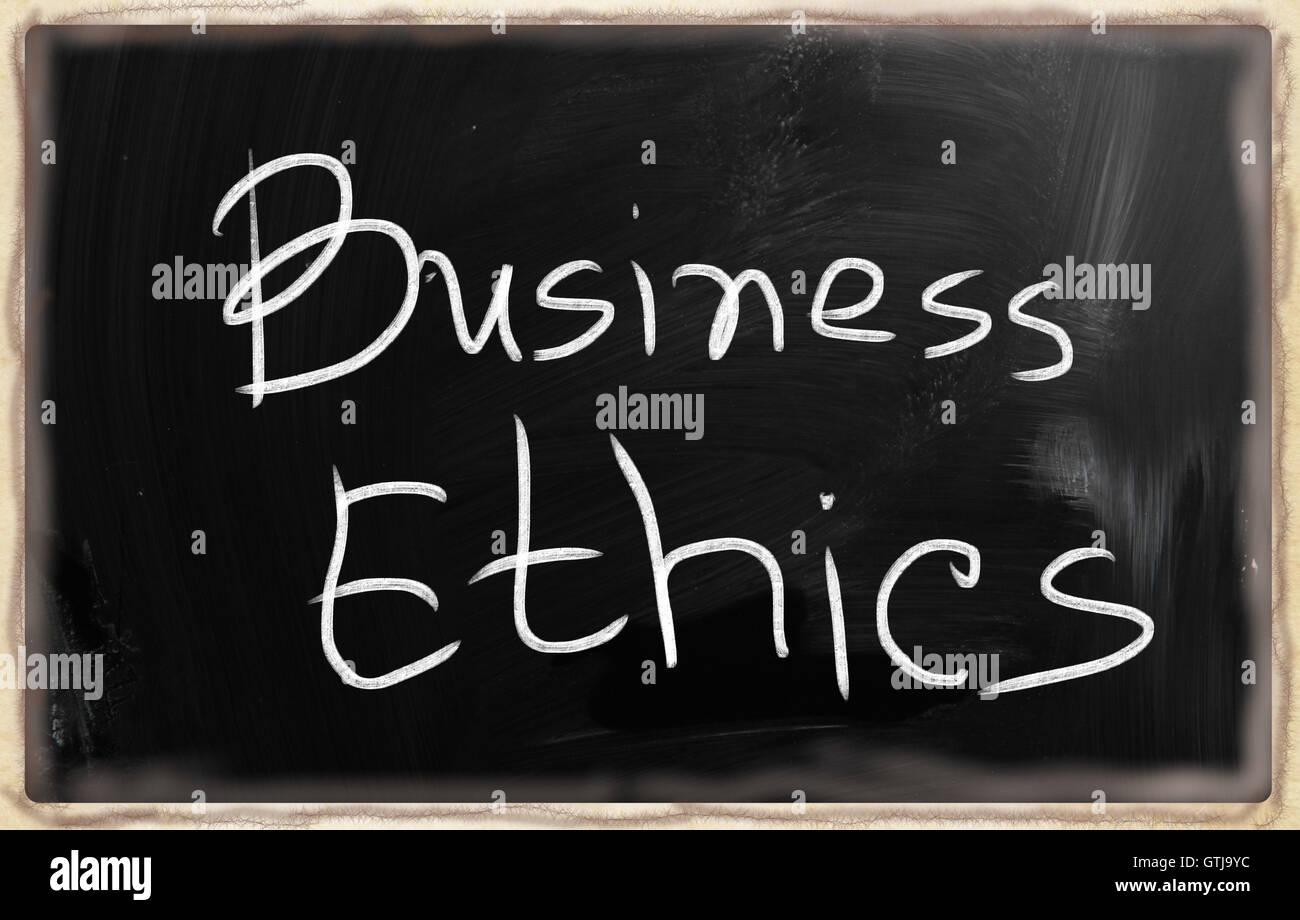 business ethics - Stock Image
