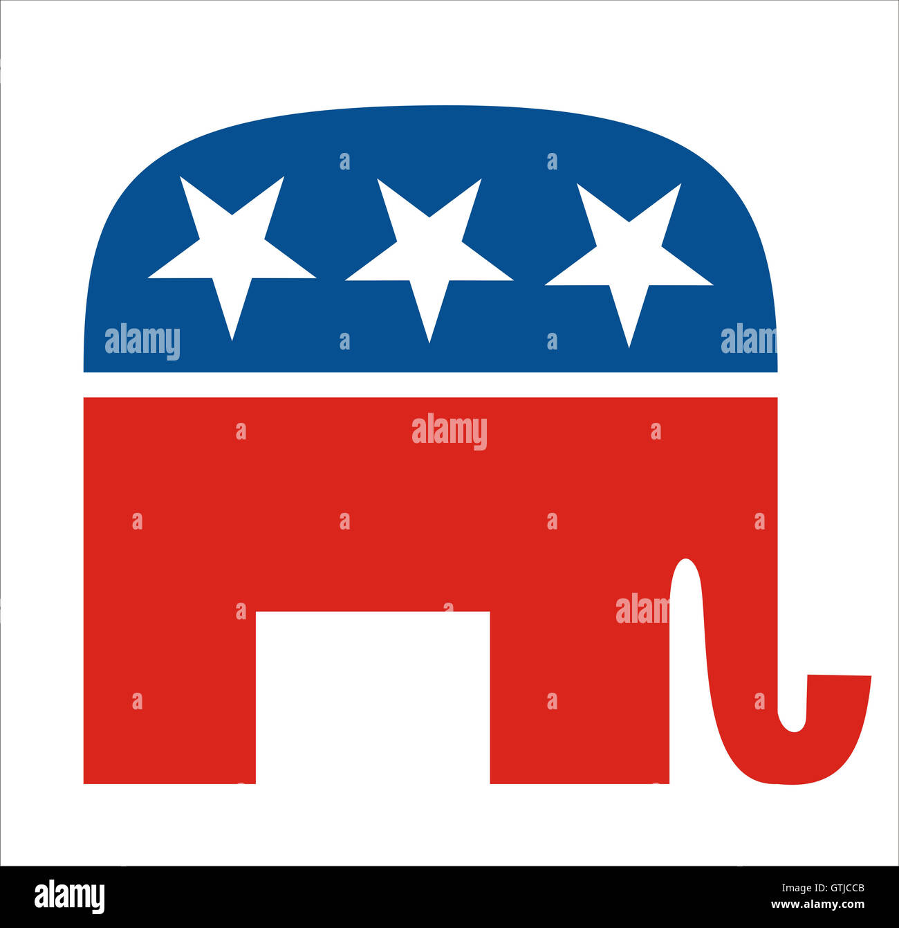republicans - Stock Image