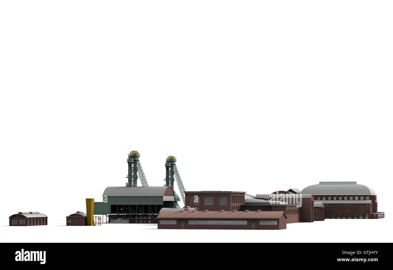 Mine Westphalia 9 - Stock Image