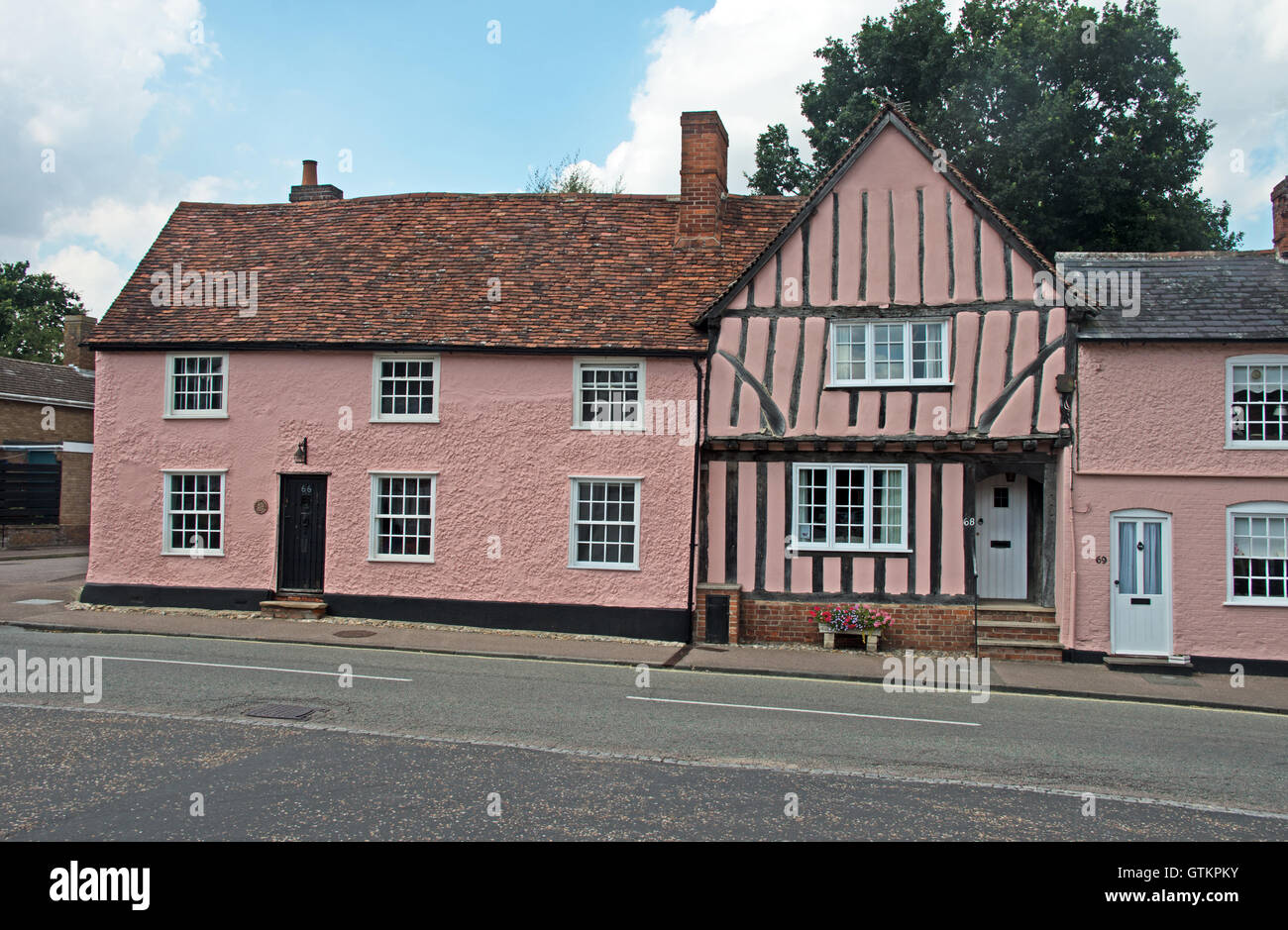 Lavenham, House, Suffolk - Stock Image