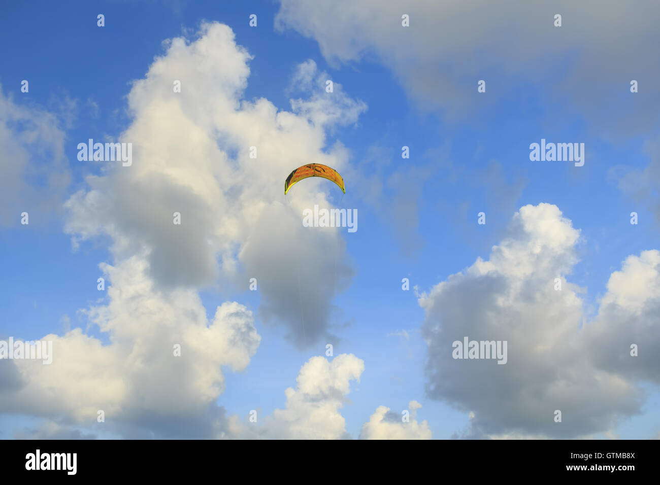 Clouds, sky, background, clouds, blue, nature, white clouds, the environment, the light forms a bright, cloudy, - Stock Image