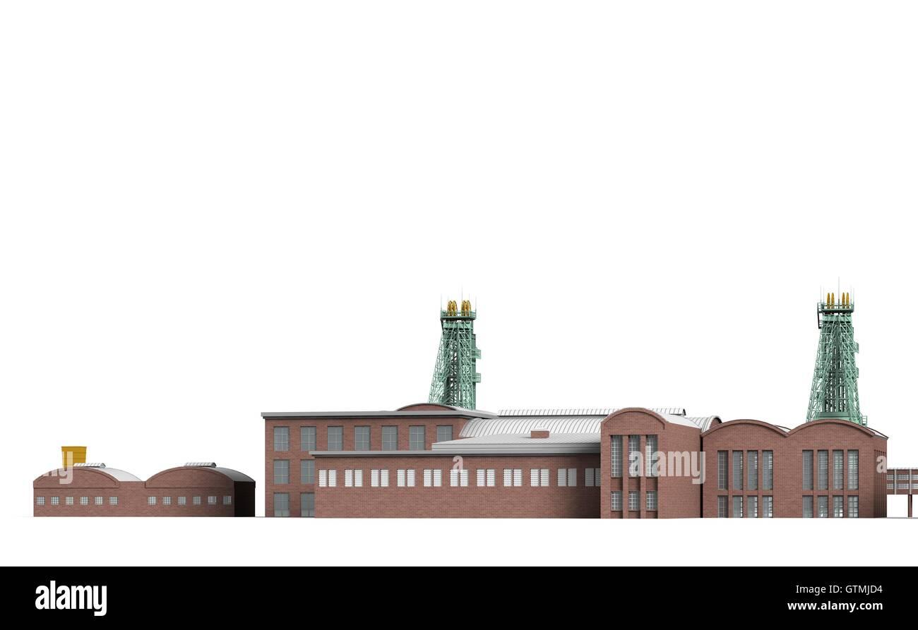 Mine Westphalia 3 - Stock Image
