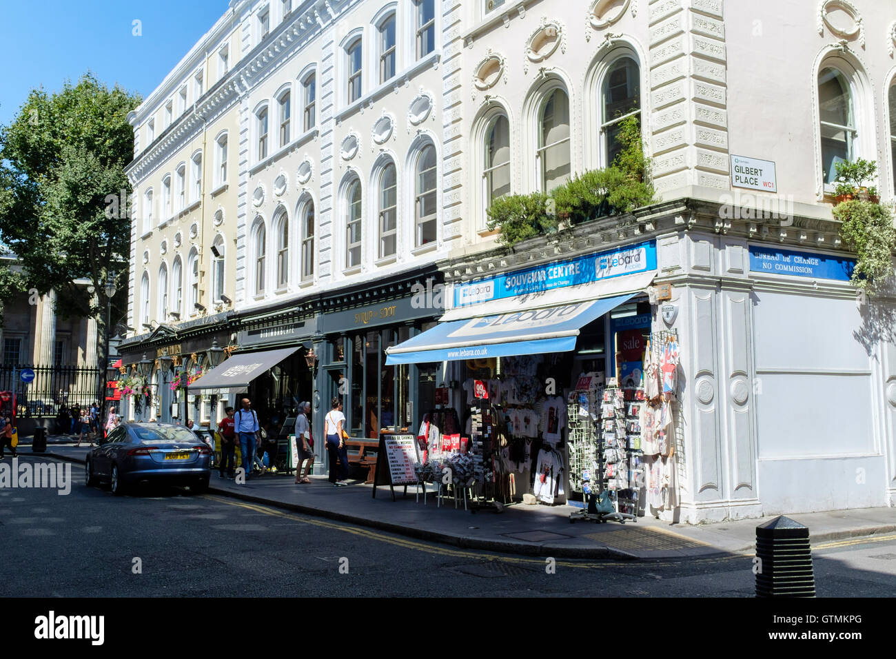 Museum street, Bloomsbury, London, UK - Stock Image