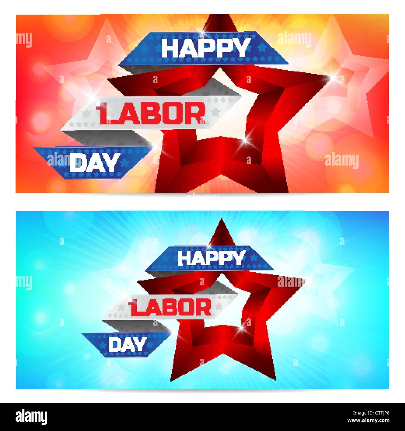 happy labor day greeting card design use this vector illustration