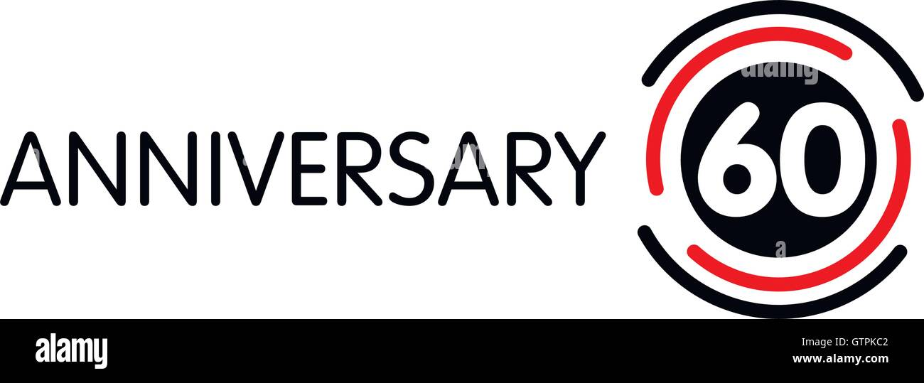Sixtieth Year Celebration Stock Photos Sixtieth Year Celebration