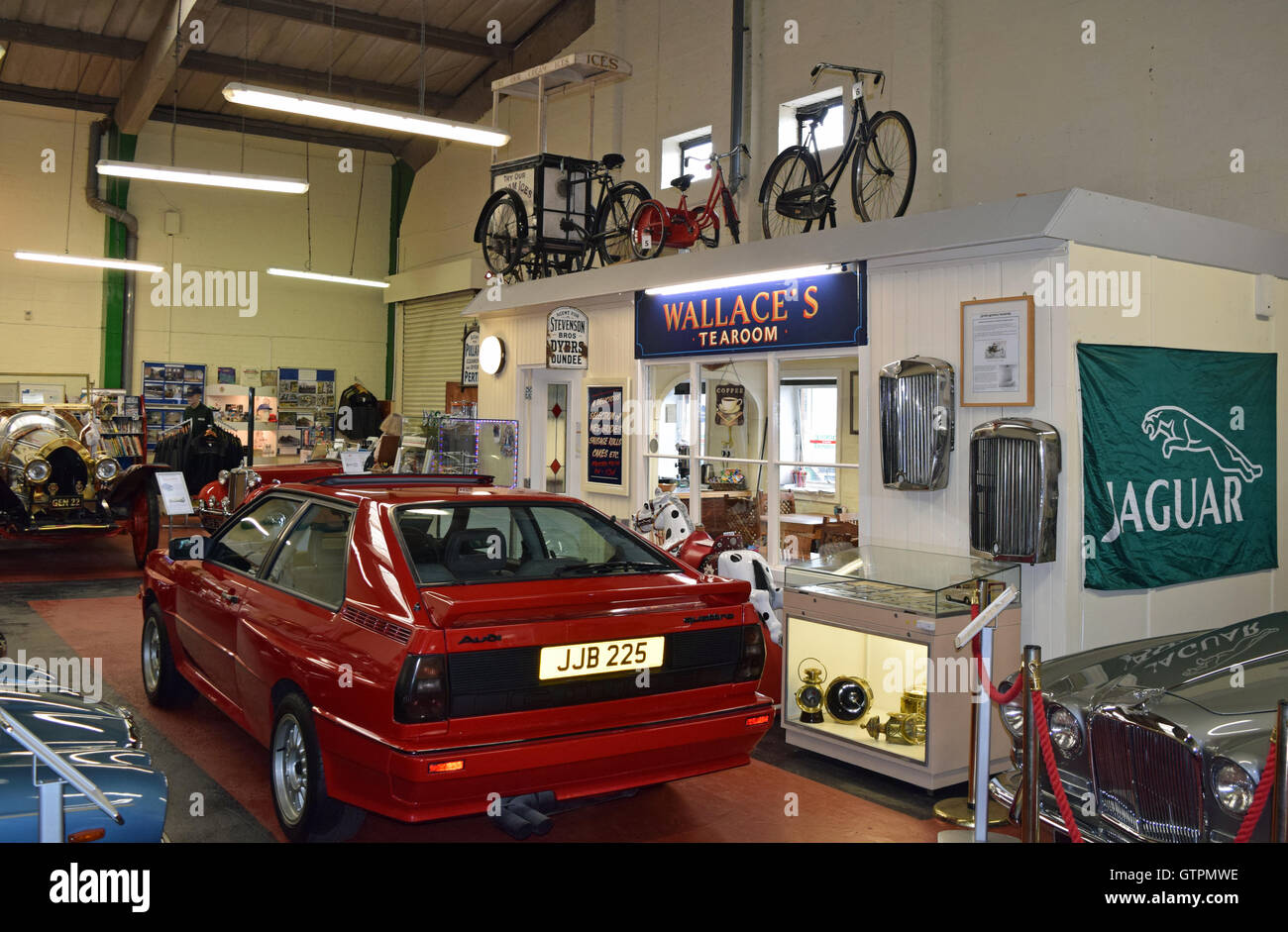 Dundee Museum Of Transport >> Dundee Museum Of Transport Cafe Tearoom Stock Photo