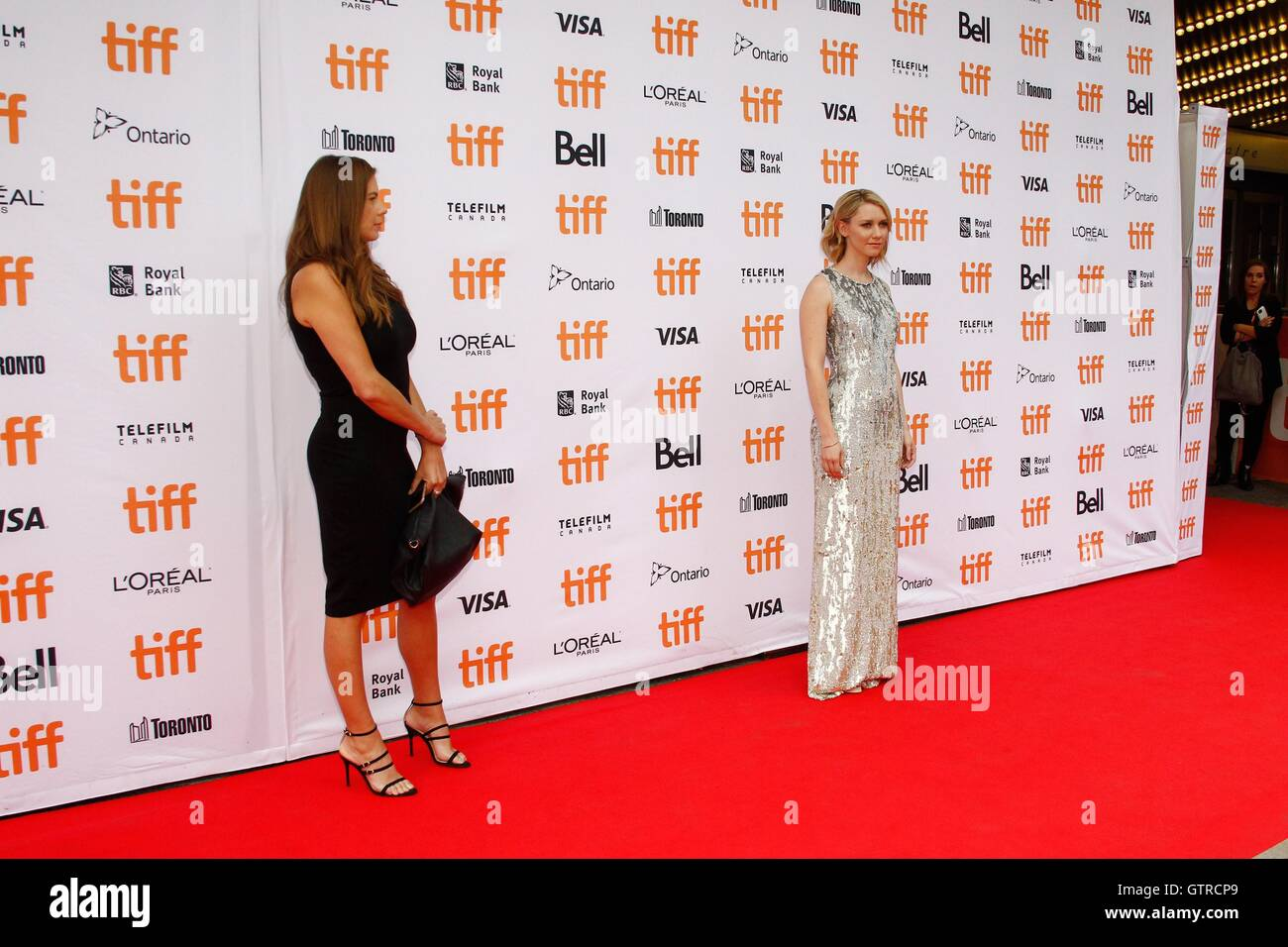 Toronto, ON. 9th Sep, 2016. Publicist, Valorie Curry at arrivals for AMERICAN PASTORAL Premiere at Toronto International - Stock Image
