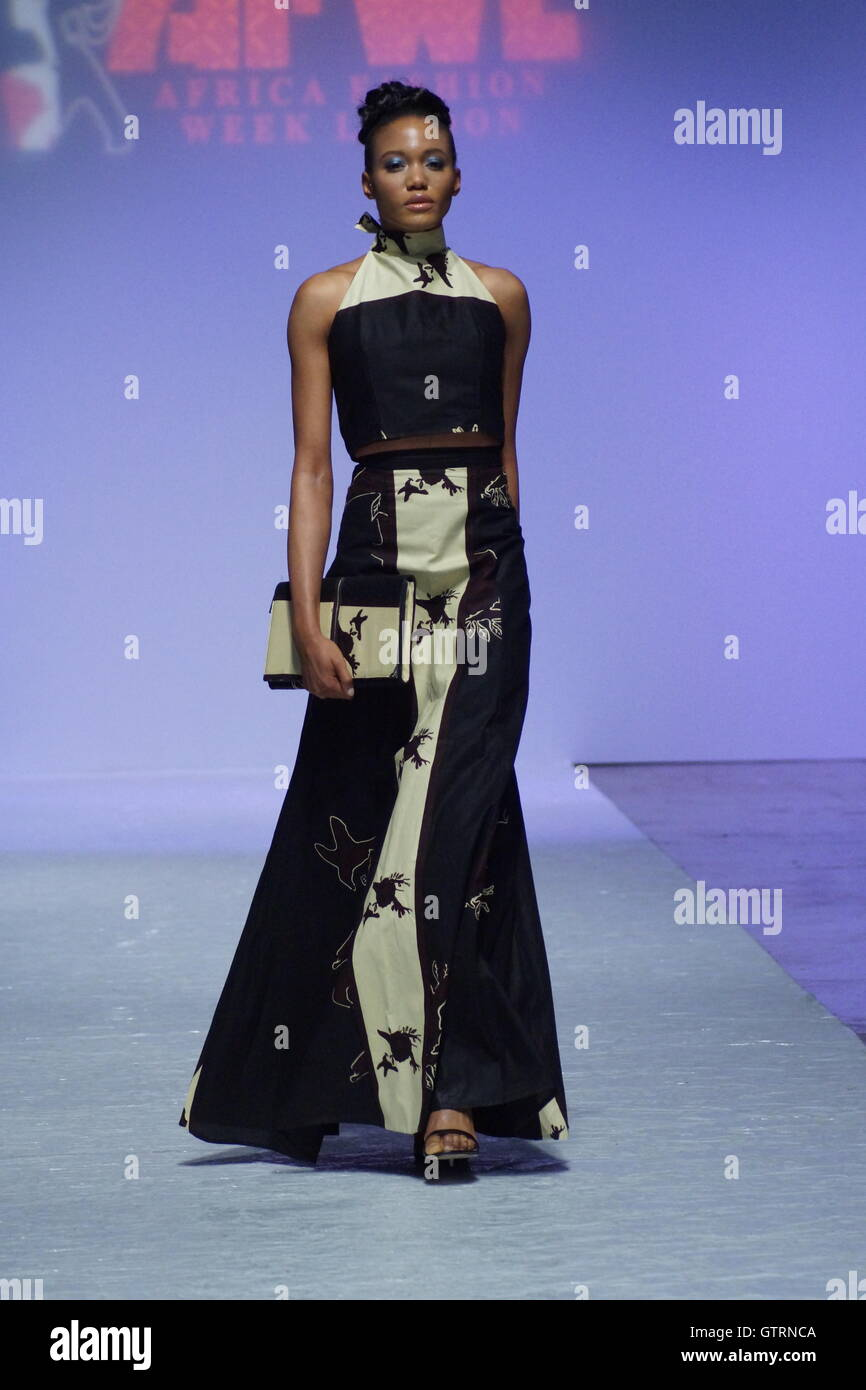 London England 10 September 2016 African Fashion Week London 2016 Stock Photo Alamy