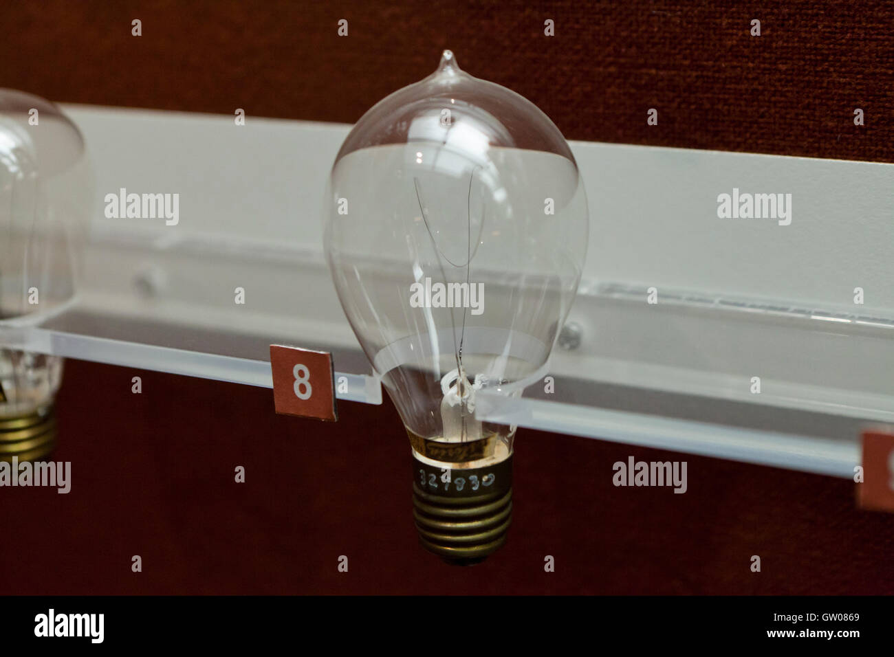 Carbon Filament Stock Photos Images Alamy Besides Incandescent Light Bulbs On Bulb Diagram Antique Image