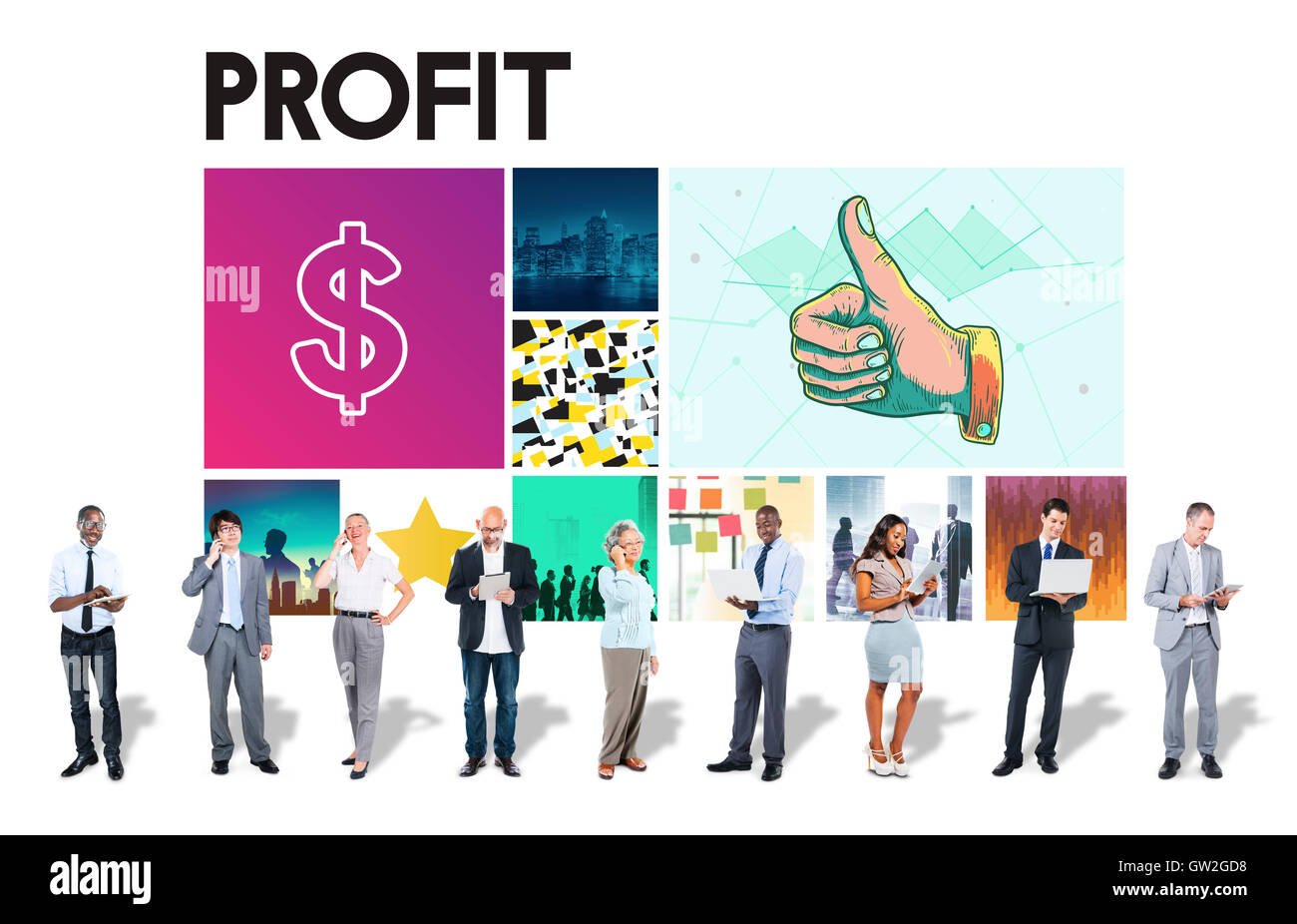 Dollar Currency Financial Transaction Invest Success Concept - Stock Image