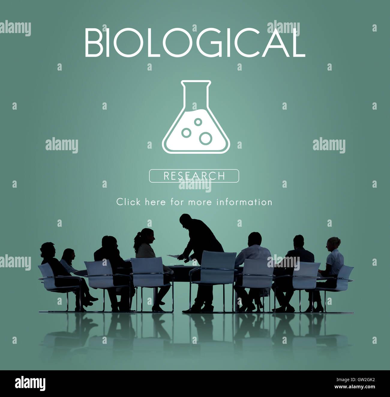 Scientific Biochemistry Genetics Engineering Concept - Stock Image