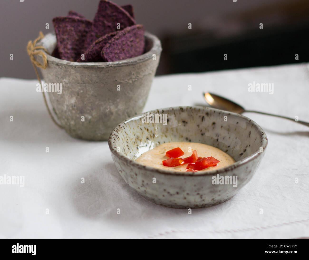 Tortilla Chips - Stock Image
