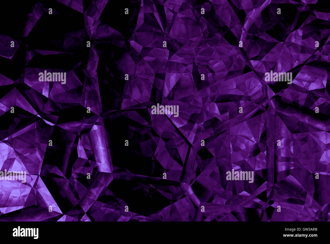 An Abstract Dark Purple Background With A Pattern Of Crystals Lines And Spots Can Be Used As Wallpaper