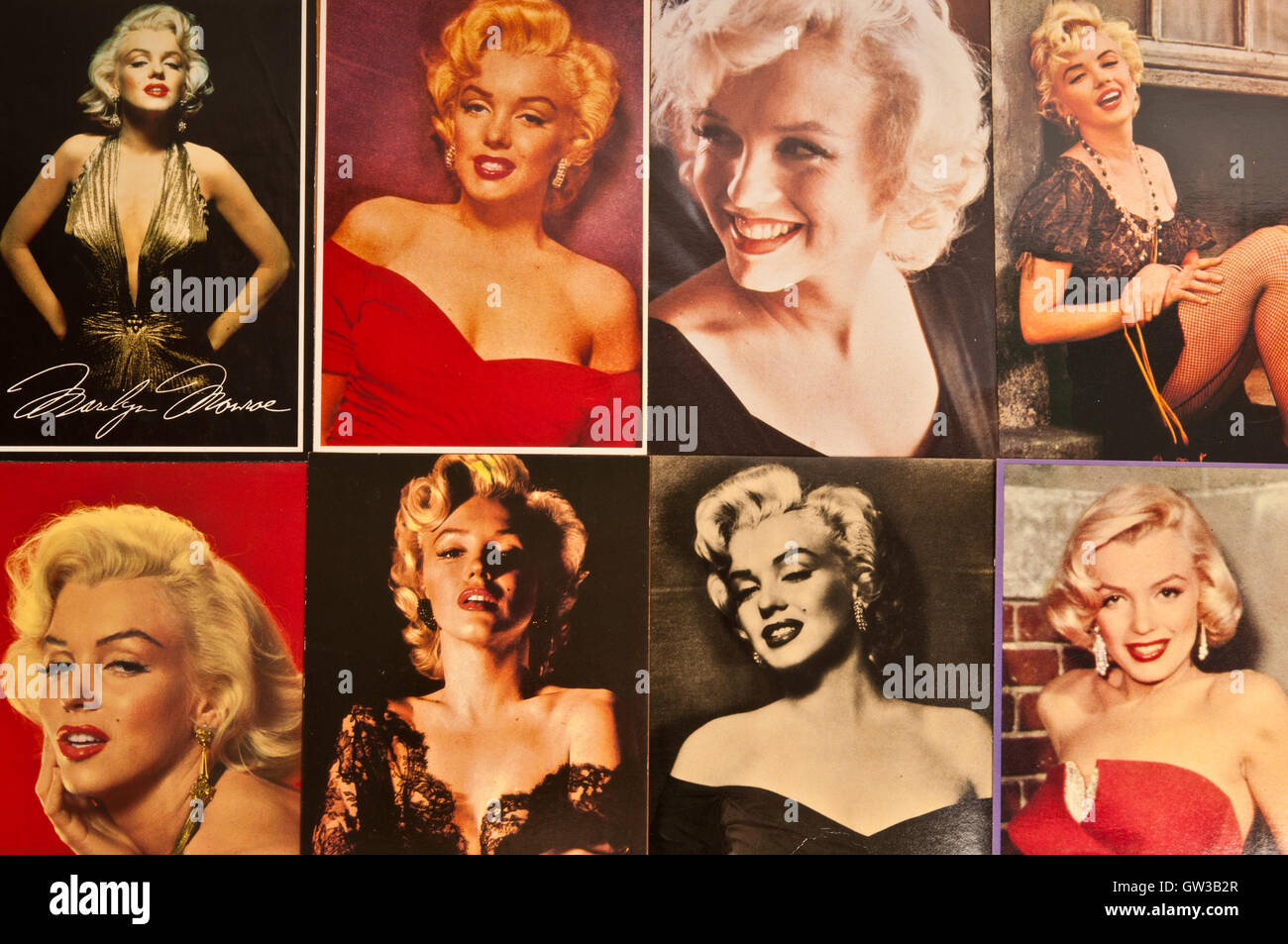 Marilyn Monroe - Stock Image