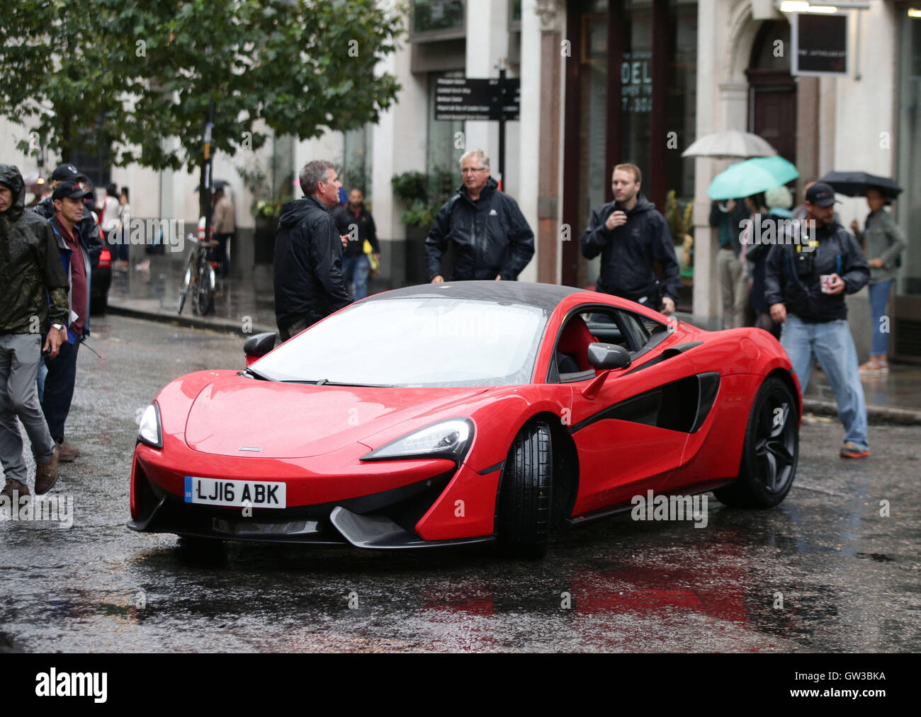 Nice A McLaren Sports Car During Filming Of The Film Transformers: The Last  Knight, In The City Of London.