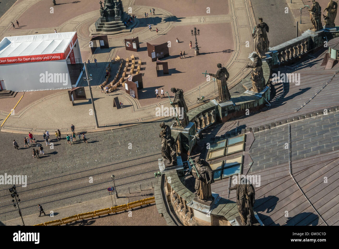 Dresden Germany - Stock Image