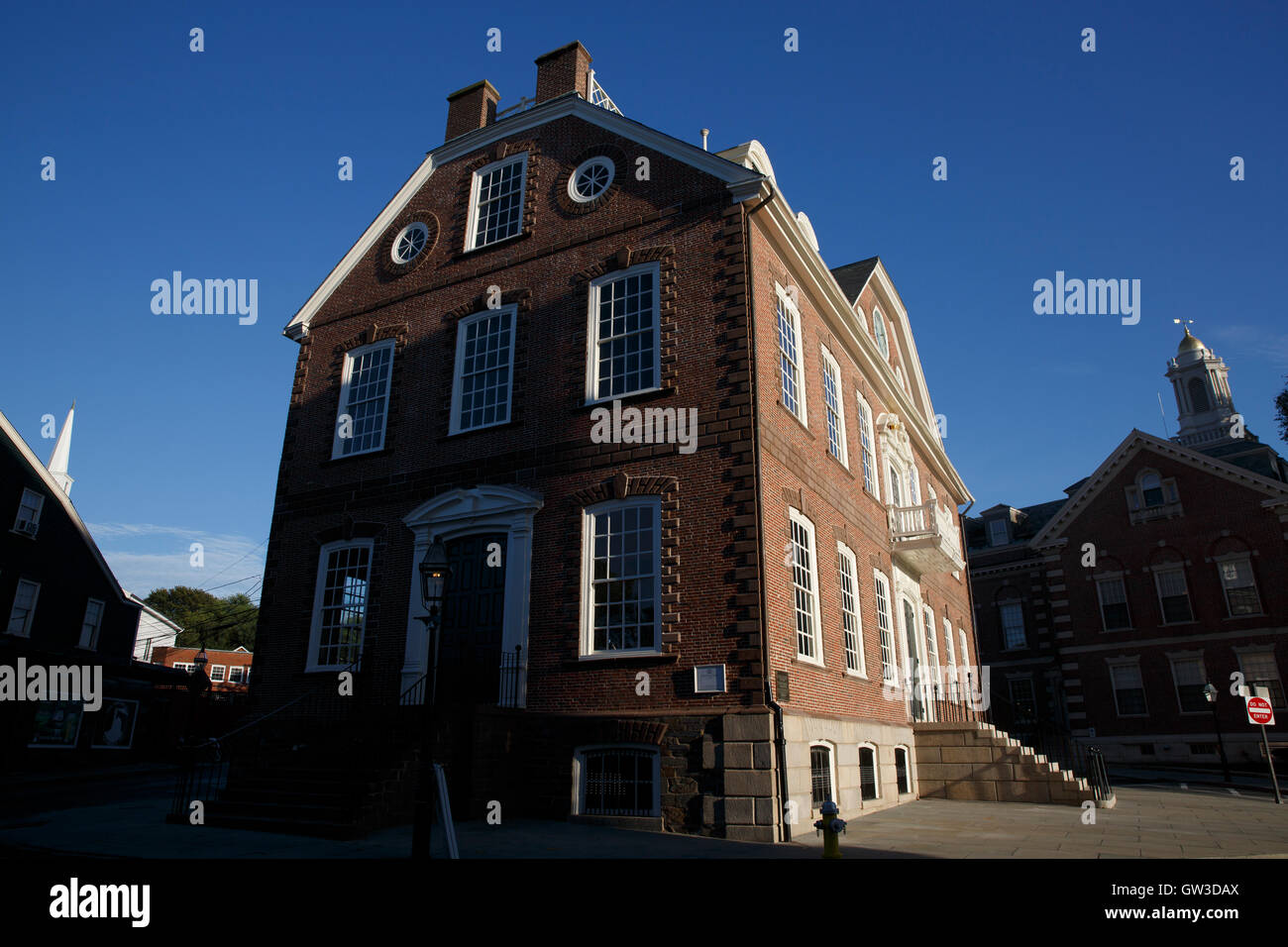 Old Colony House, Newport, Rhode Island - Stock Image