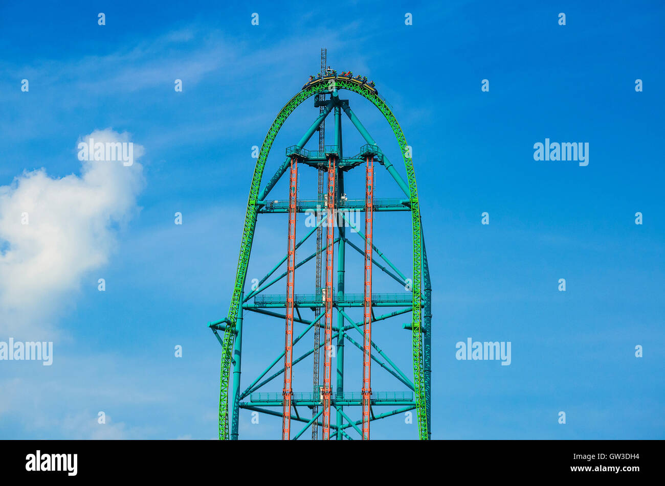 kingda ka is the tallest and fastest roller coaster in north america