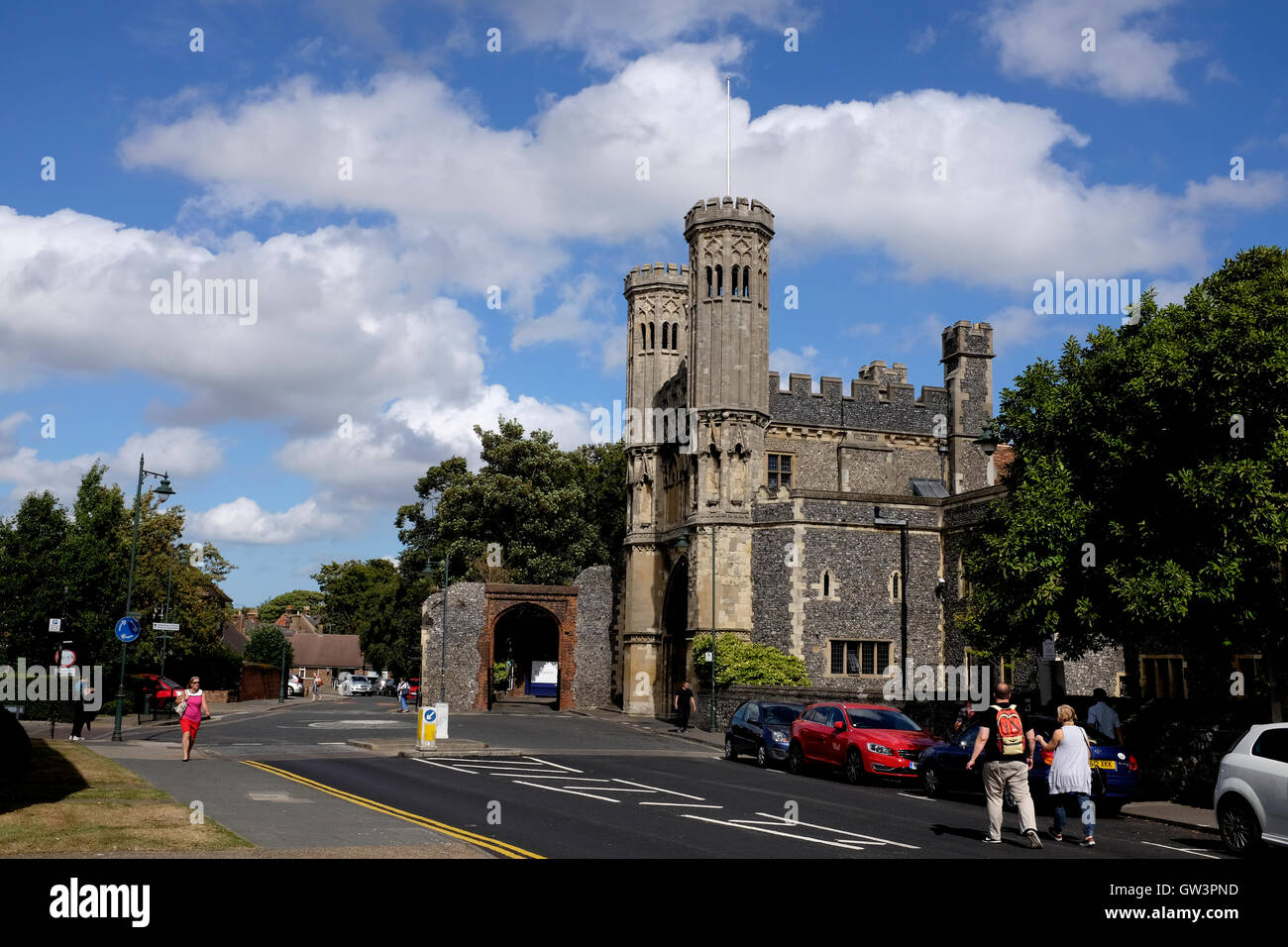 the kings school coeducational independent in the city of canterbury east kent uk september 2016 - Stock Image