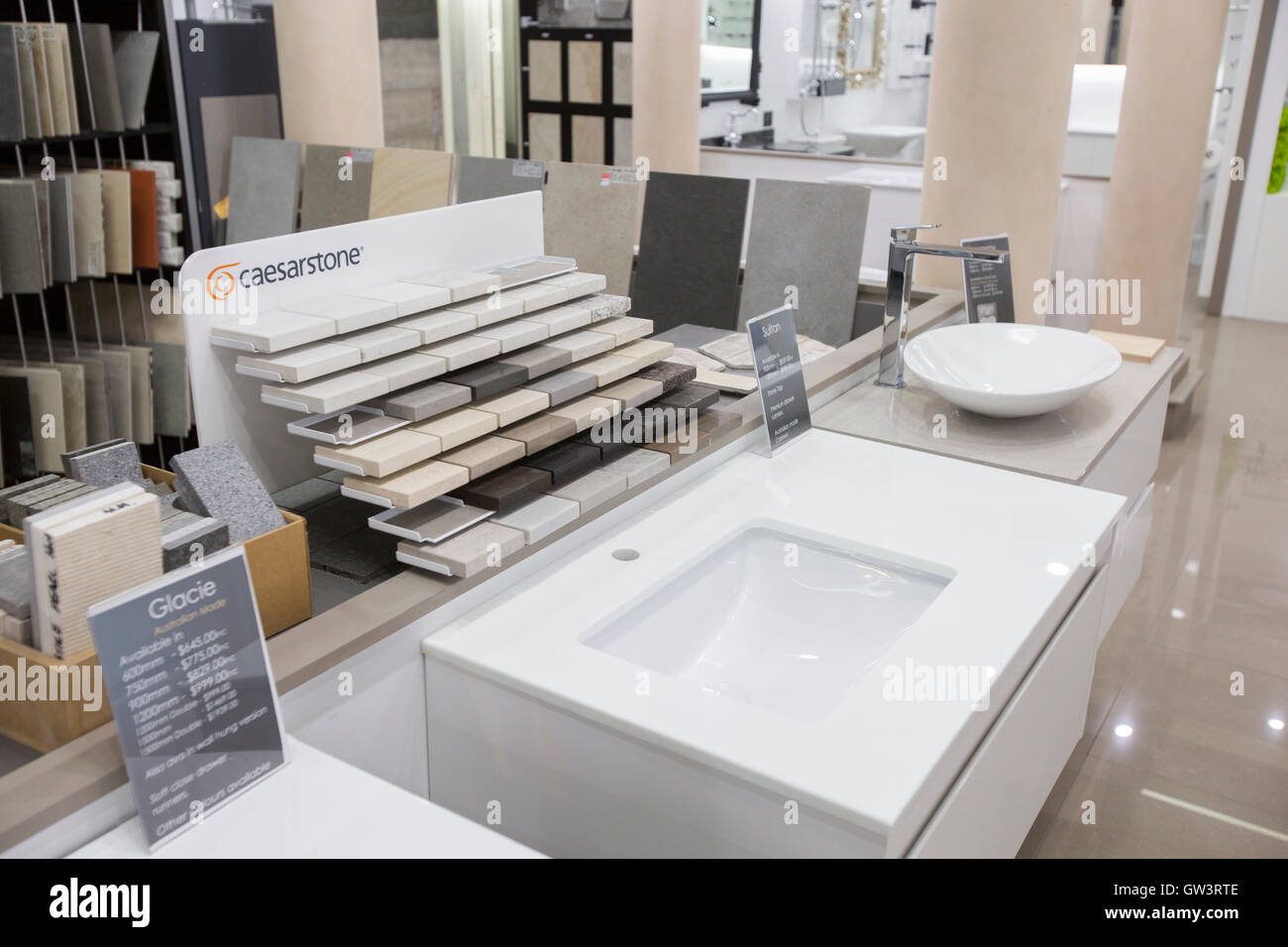 Bathroom Sanitary Ware Showroom Retailer Stock Photos & Bathroom ...