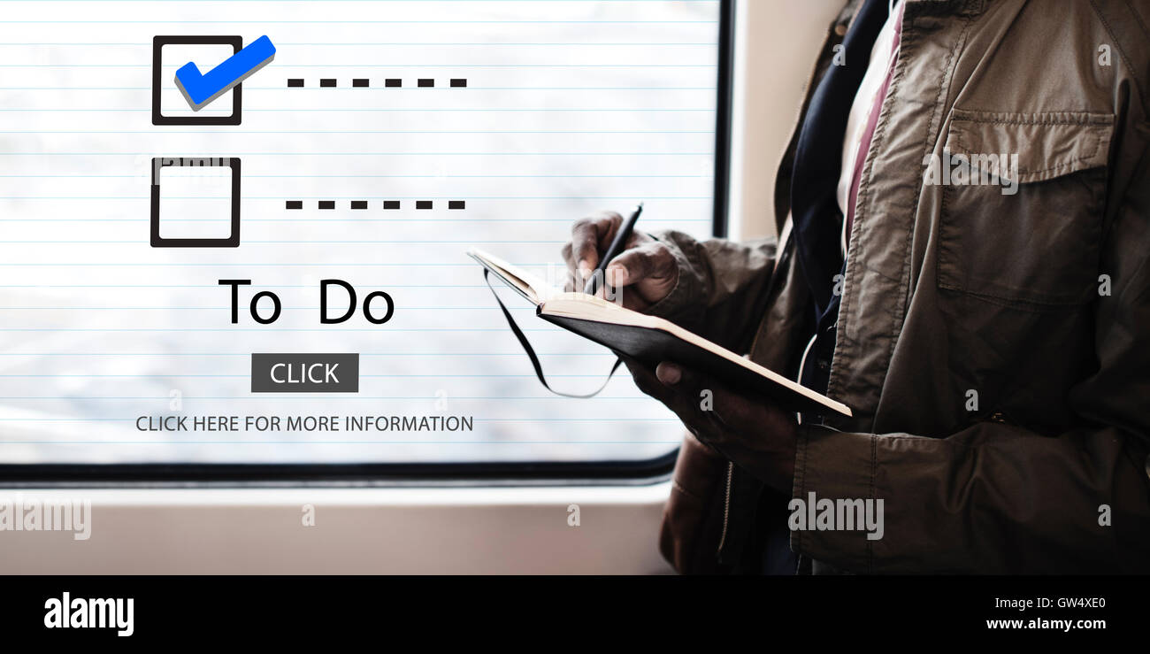 Checklist Choices To Do Audit Evaluation Concept - Stock Image