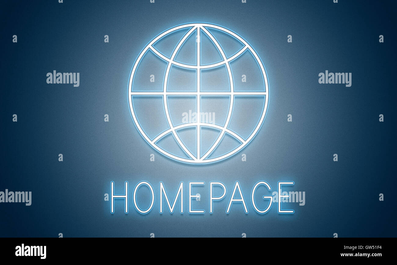 HTTP Homepage Internet Online Concept - Stock Image