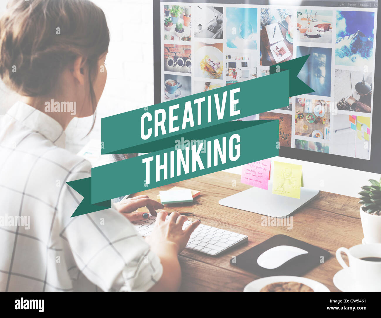 Blog Creativity Graphic Design Deadline Concept - Stock Image