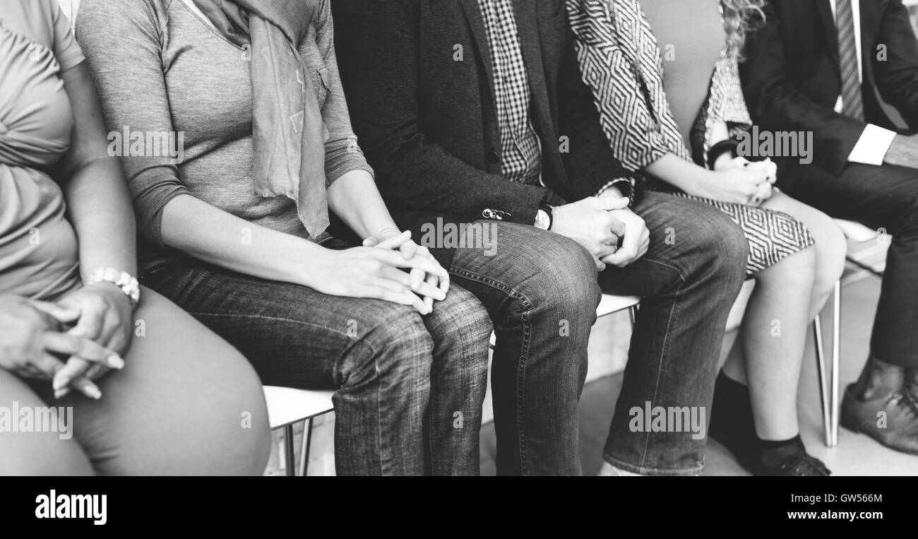 Group of Business People Occupation Concept - Stock Image