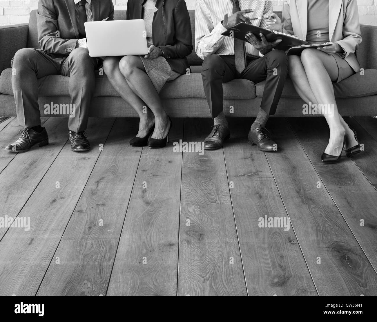 Corporate Professional Business Workers Concept - Stock Image