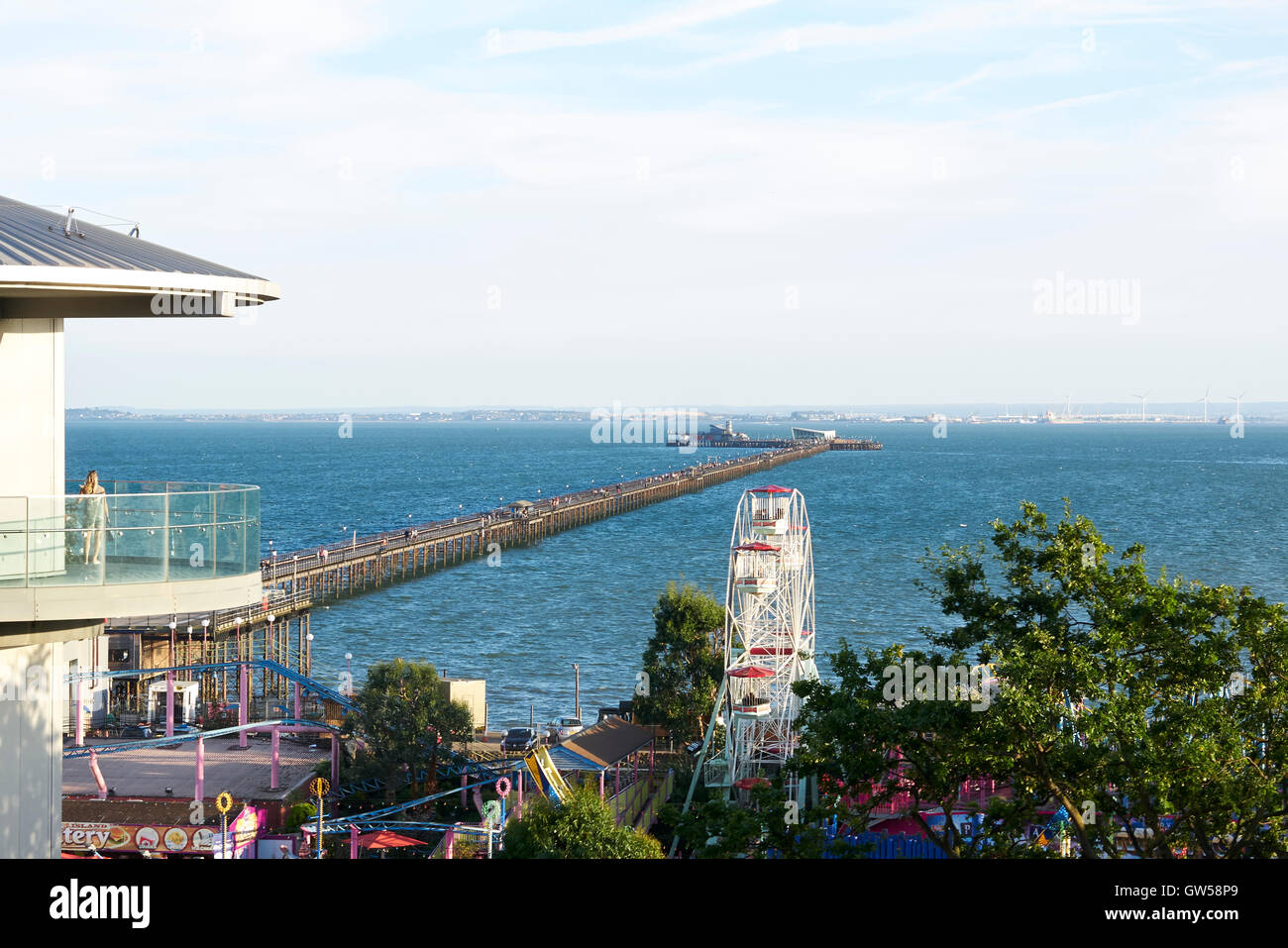 Southend On Sea, Essex, UK. End of 2016 Summer - Stock Image