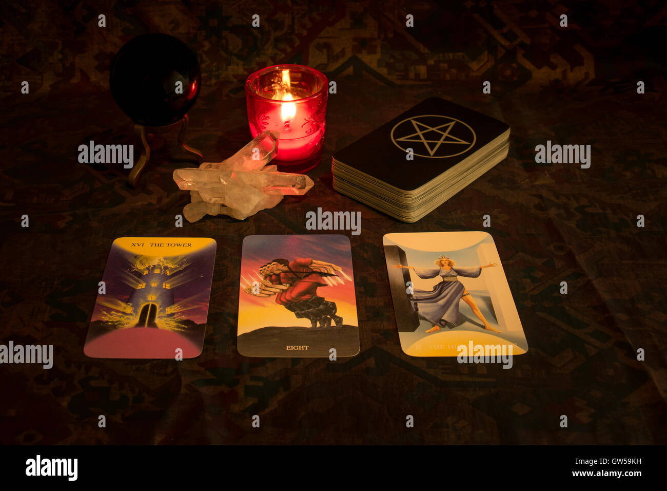 Fortune telling - Stock Image