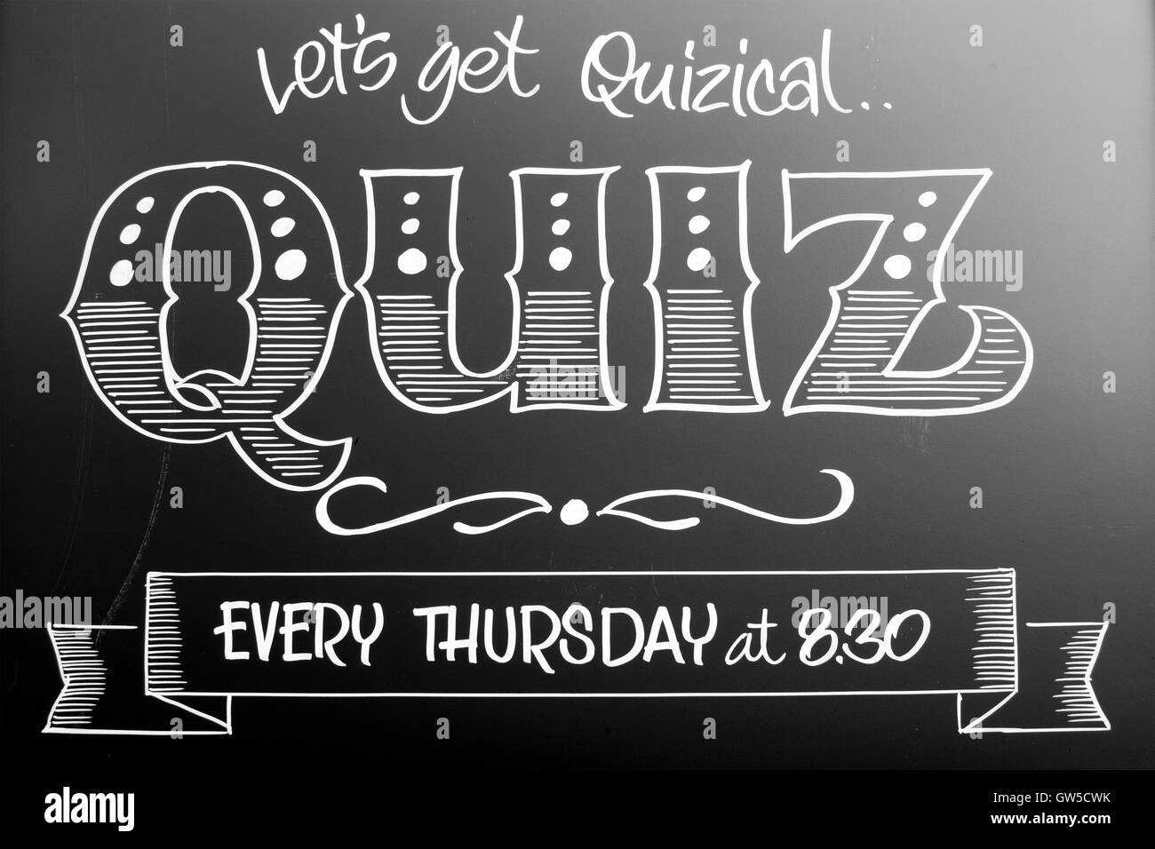 Quiz Night Stock Photos & Quiz Night Stock Images - Alamy